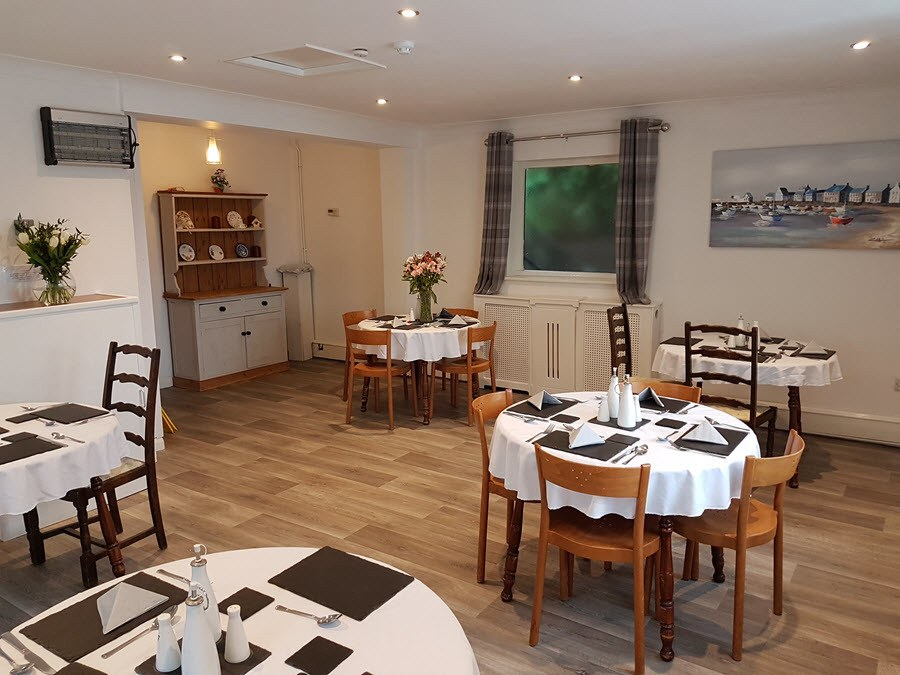 Dining Room at Culrose House Care Home